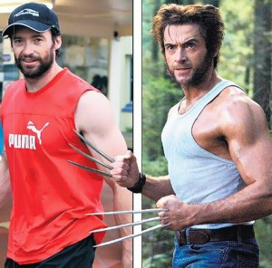 Hugh Jackman Before and After