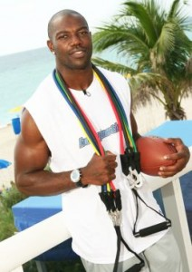 Terrell Owens ab workout