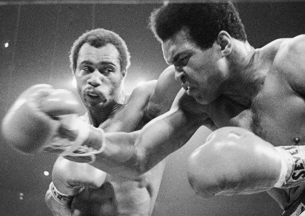 Kenny Norton Knocking out Mohammed Ali