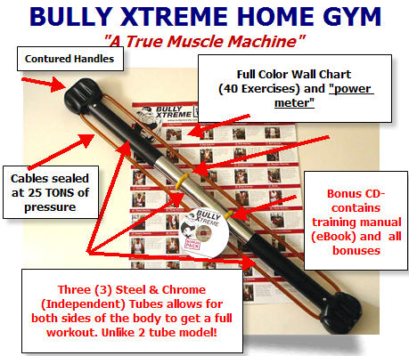 BULLWORKER EXERCISE CHART
